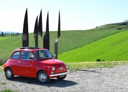 Vintage Fiat 500 - Magnificent Tuscany
