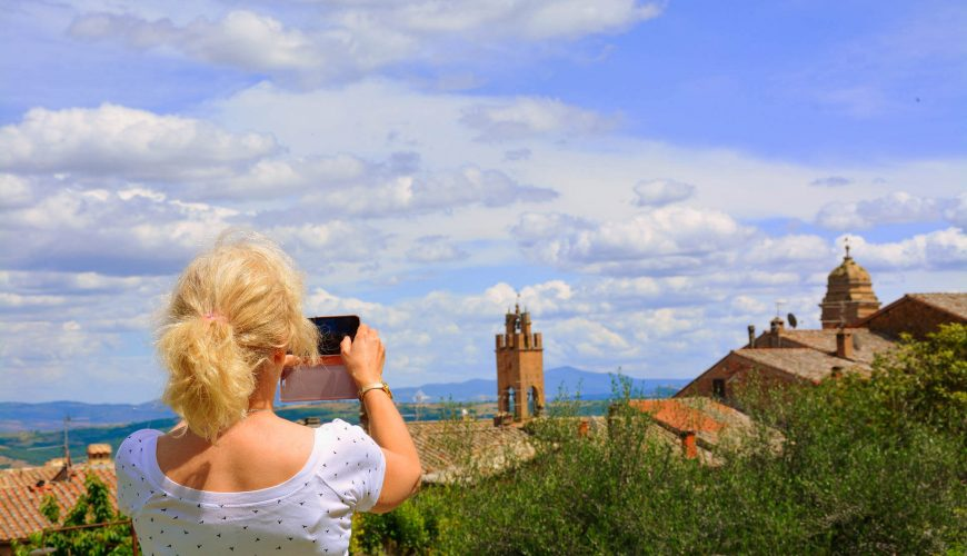 Montalcino a charming village in the Magnificent Tuscany