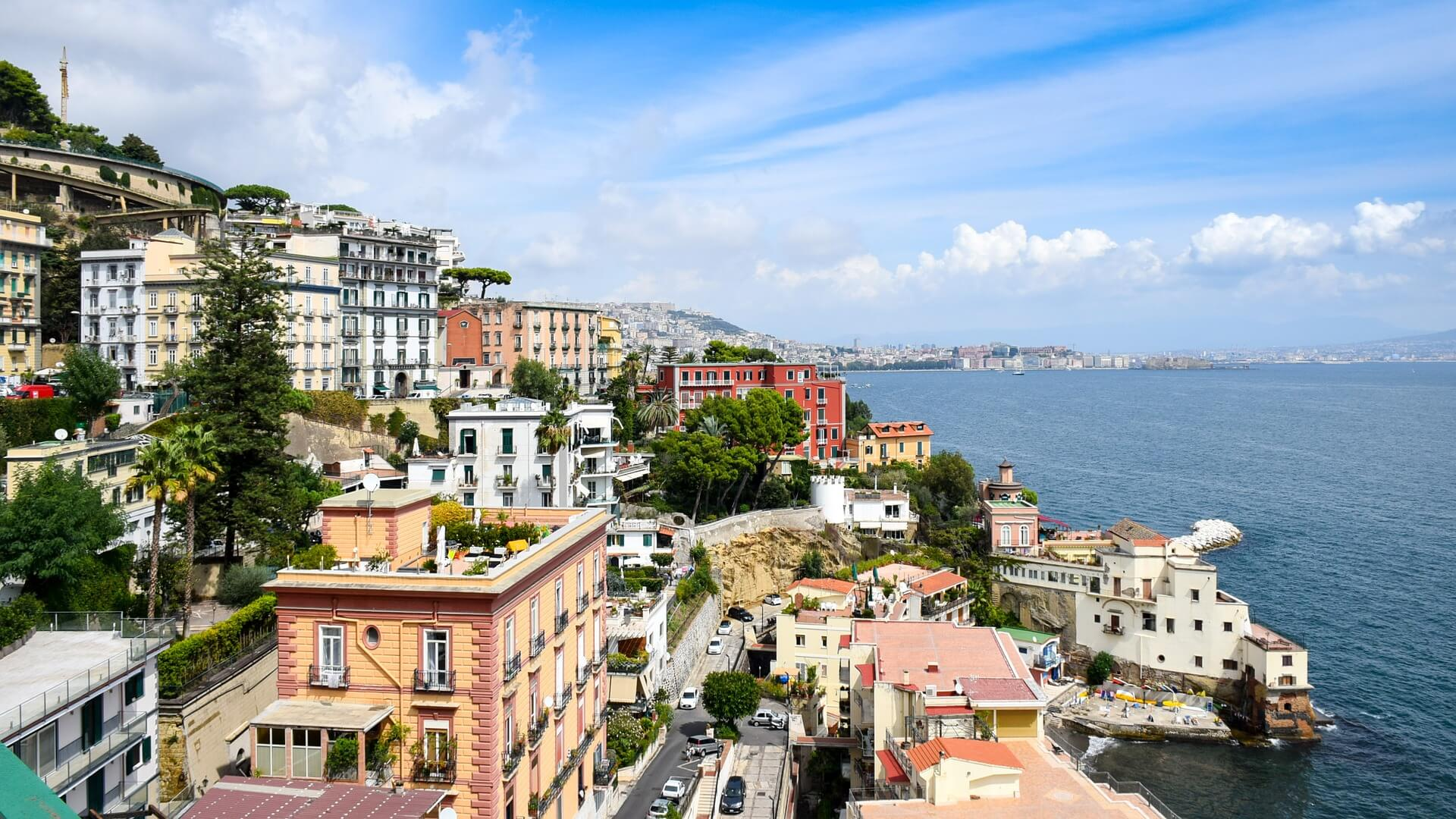 Magnificent Tuscany - Naples the pearl of Southern Italy