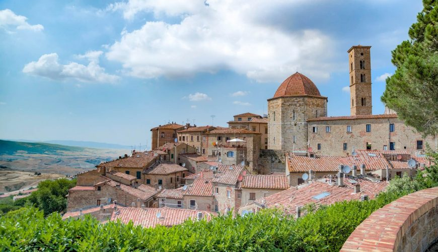 Magnificent Tuscany - Volterra the city of Alabaster